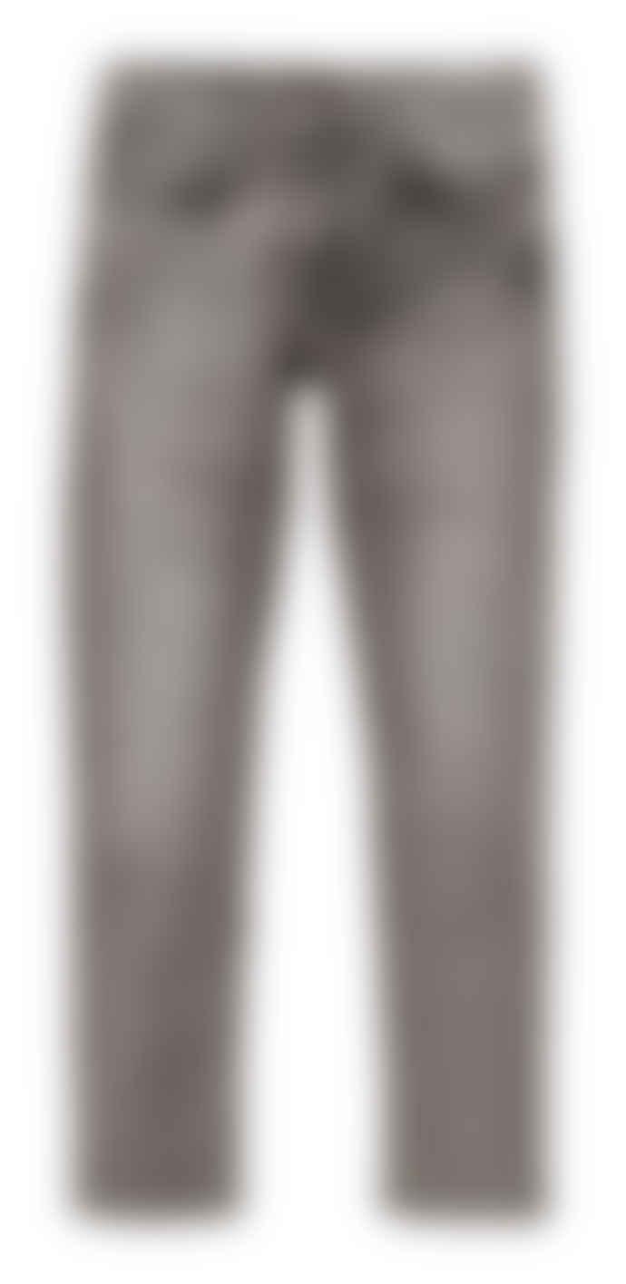 Nudie Jeans Vintage Grey Lean Dean Slim Fit Jeans