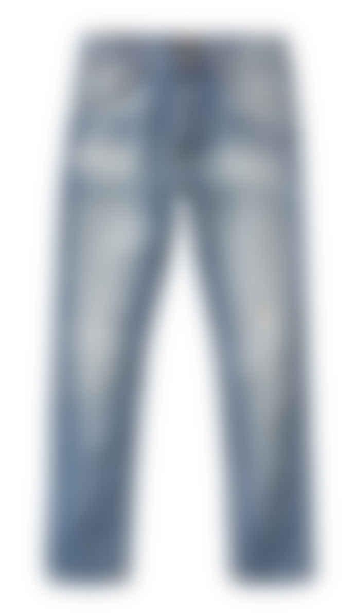 Nudie Jeans Broken Summer Lean Dean Slim Fit Jeans