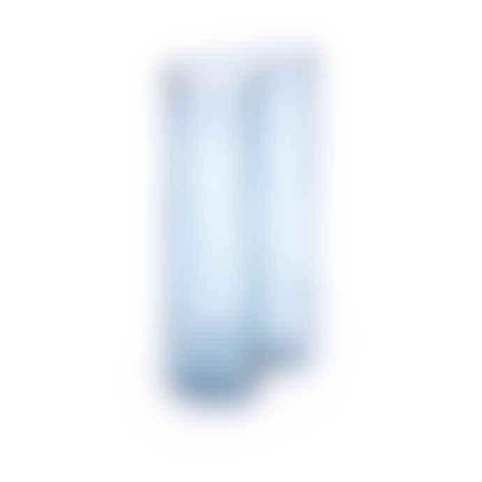 Fest Light Blue Glass Swango Vase