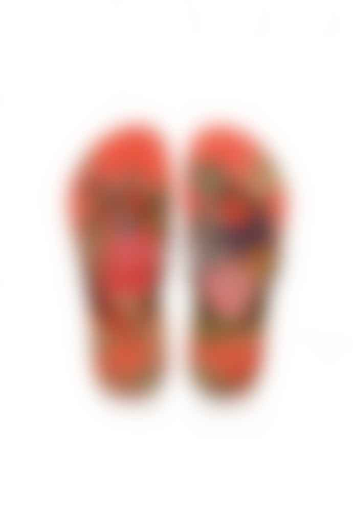 Havaianas Strawberry Slim Tropical Flip Flops