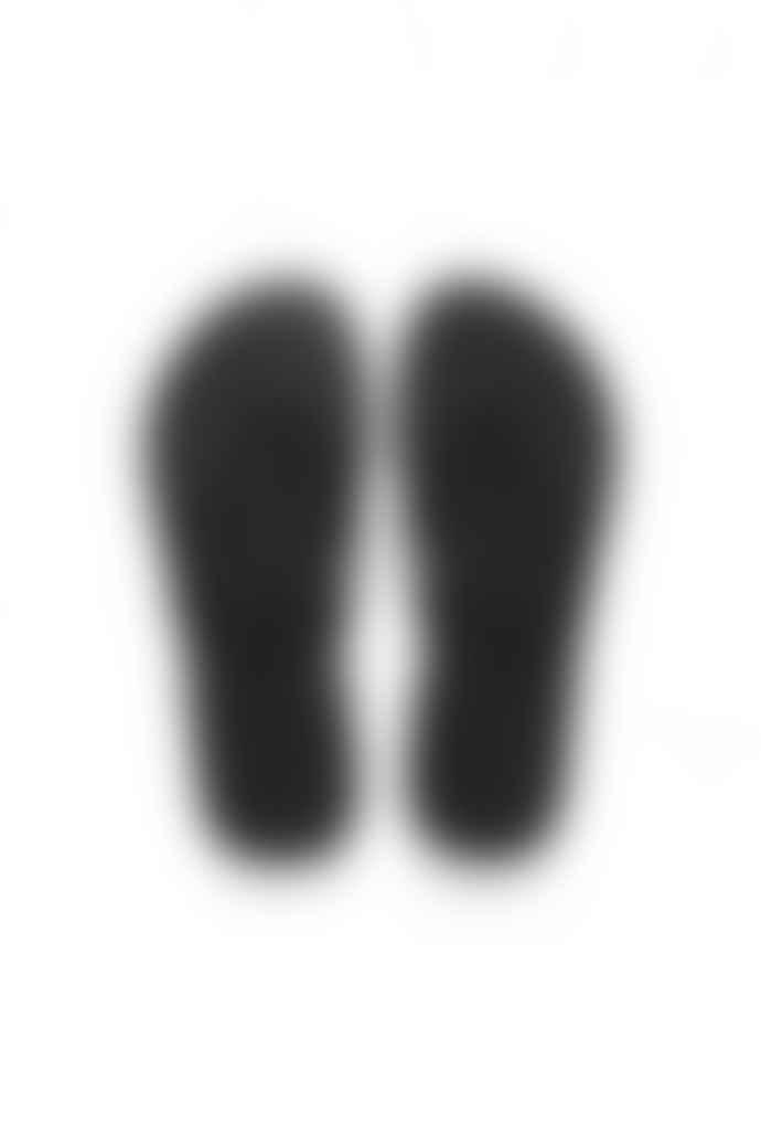 Havaianas Black Slim Glitter Flip Flops