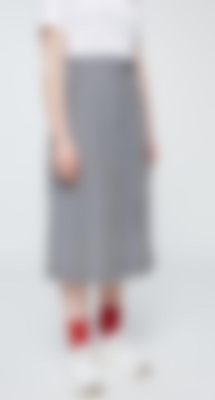 Armedangels Organic Cotton MAARIELLE VICHY Skirt_Black_Womens