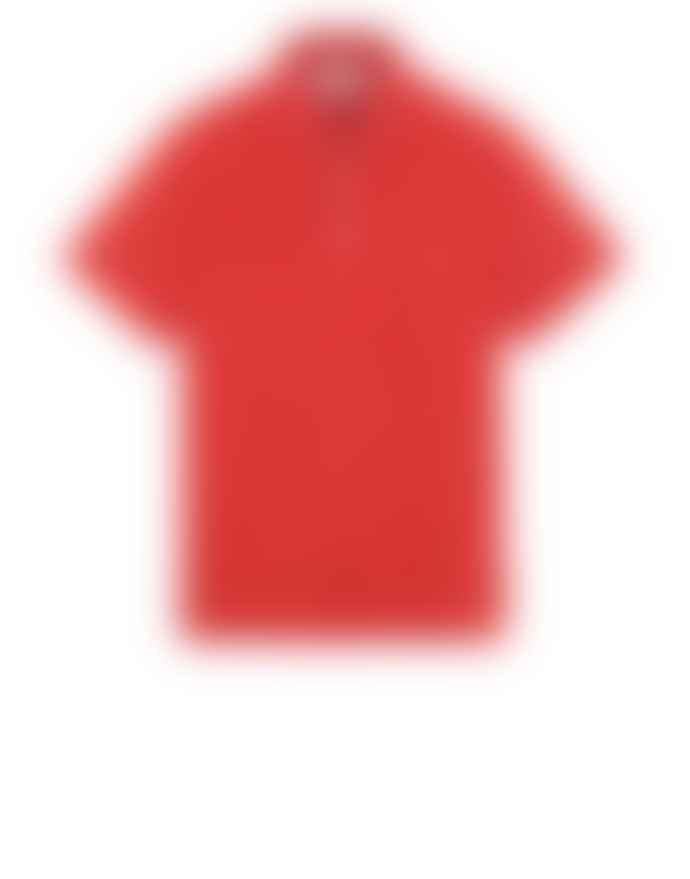 Stone Island Brick Short Sleeve Polo Shirt