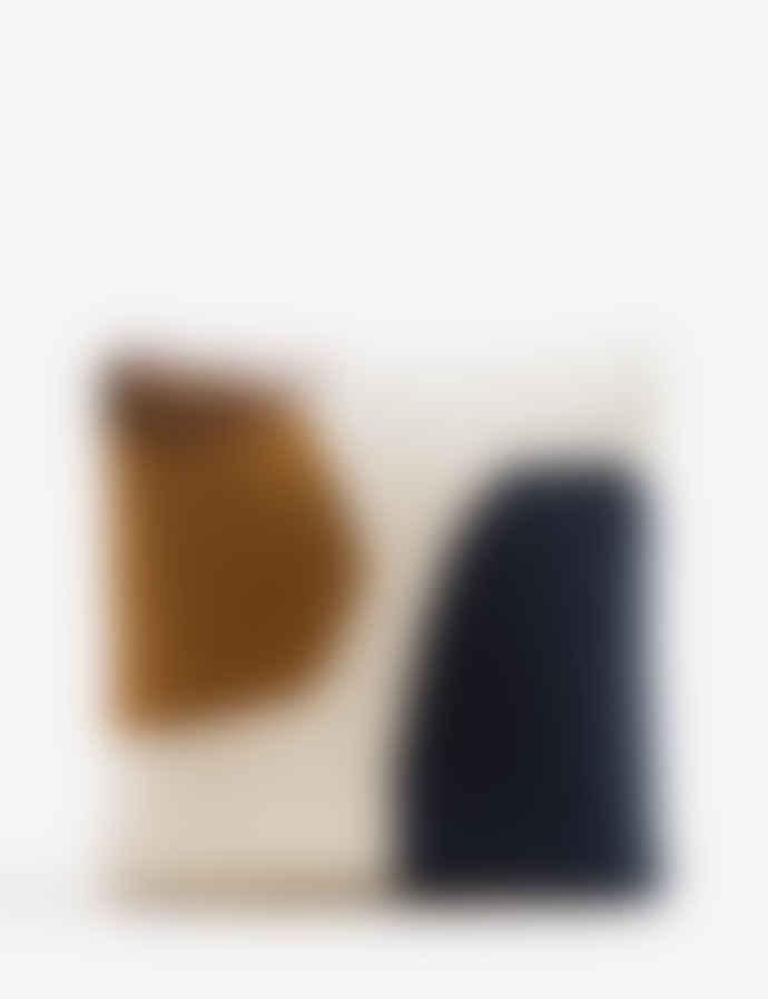 Ferm Living Wool And Cotton Kelim Cushion