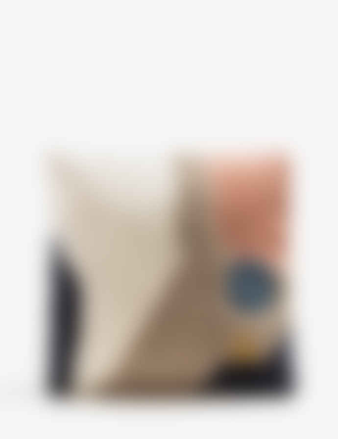 Ferm Living Landscape Wool And Cotton Loop Cushion