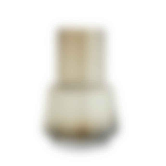 Madam Stoltz Smoked Coffee Glass Vase