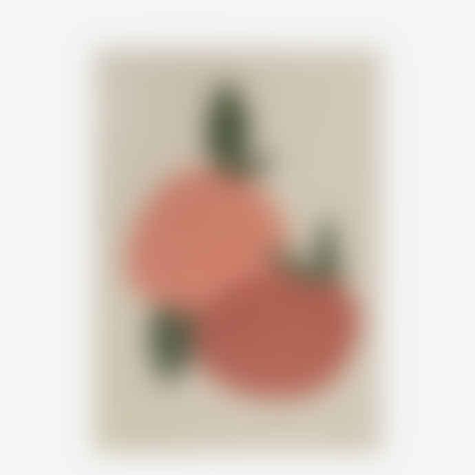 James Wilson A3 Oranges Glicee Print