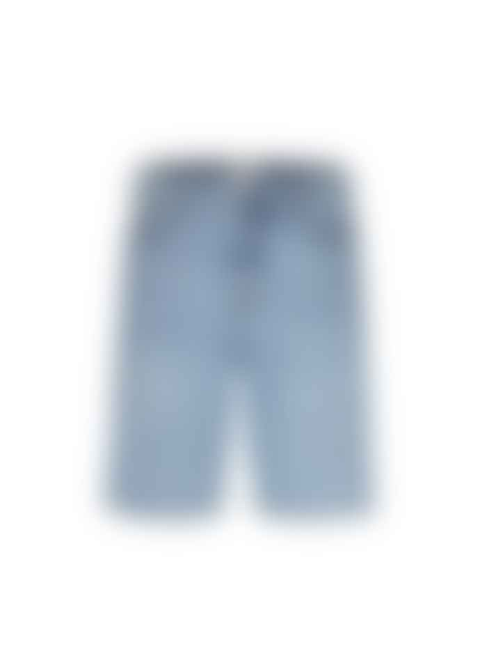 Armedangels Faded Blue Organic Cotton Shorts