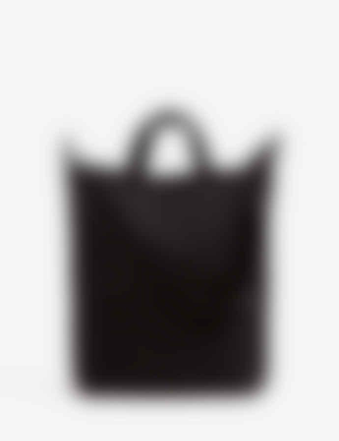Baggu Black Cotton Canvas Duck Shoulder Bag