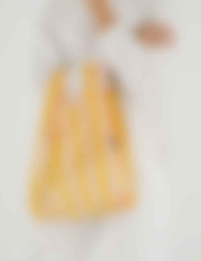 Baggu Yellow Stripe Nylon Ripstop Baby Reusable Bag