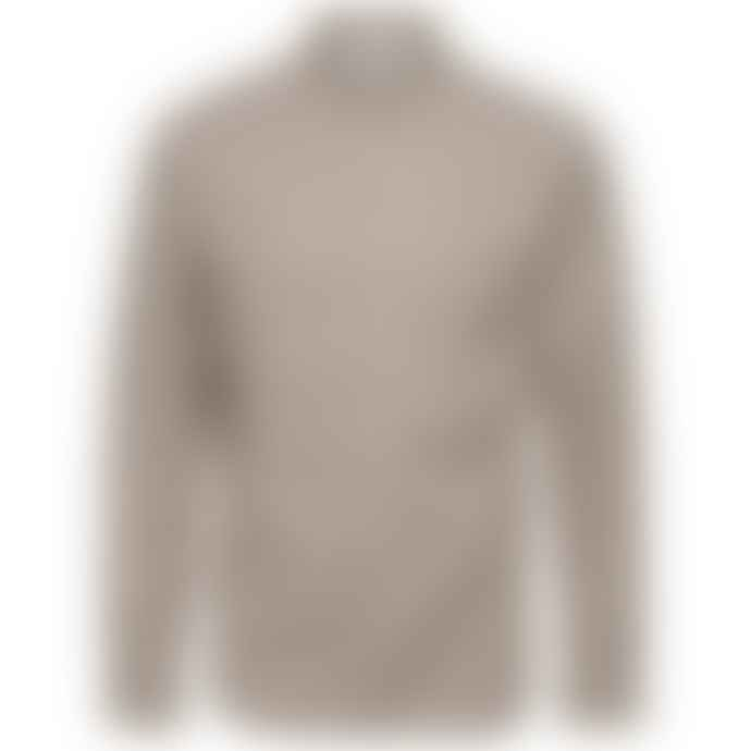 Selected Homme Brick Red Cotton Regular Fit Oliver Shirt