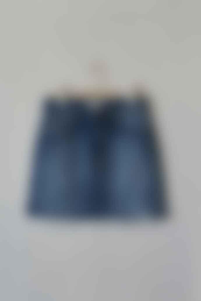 ese O ese Falda Texas Denim Mini Skirt