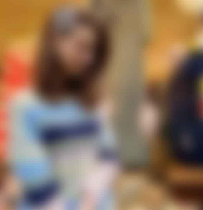 Lollys Laundry Striped Beige Mohair Nina Jumper