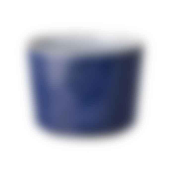 Denby Stoneware Studio Blue Cobalt Brew Open Sugar Bowl
