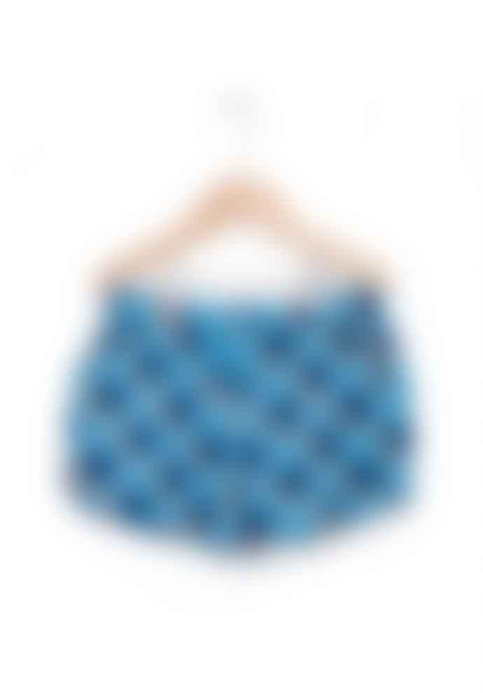 nadadelazos Blue Cotton Icebox Short