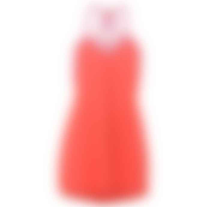 Pitusa Mini Blood Orange Pom Pom Dress