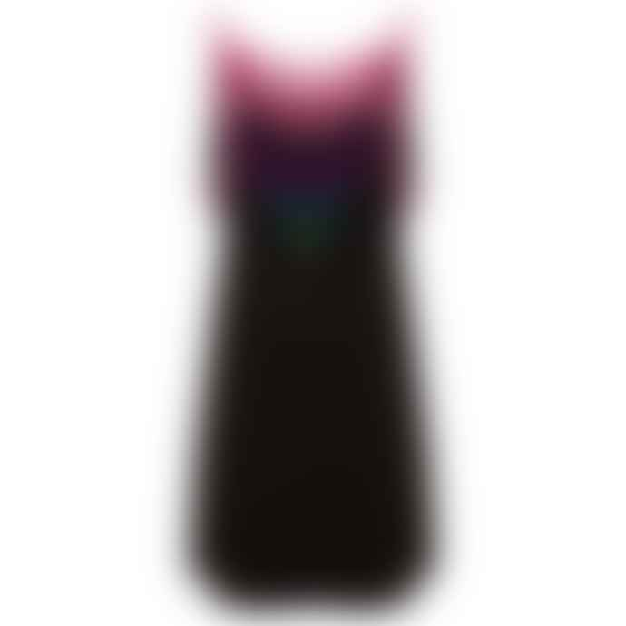 Pitusa Black Pom Pom Falls Dress