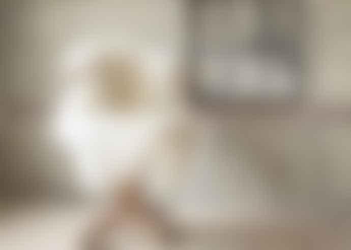 Van Buren Bolsward 105 cm White Texels 100% Organic Sheepskin