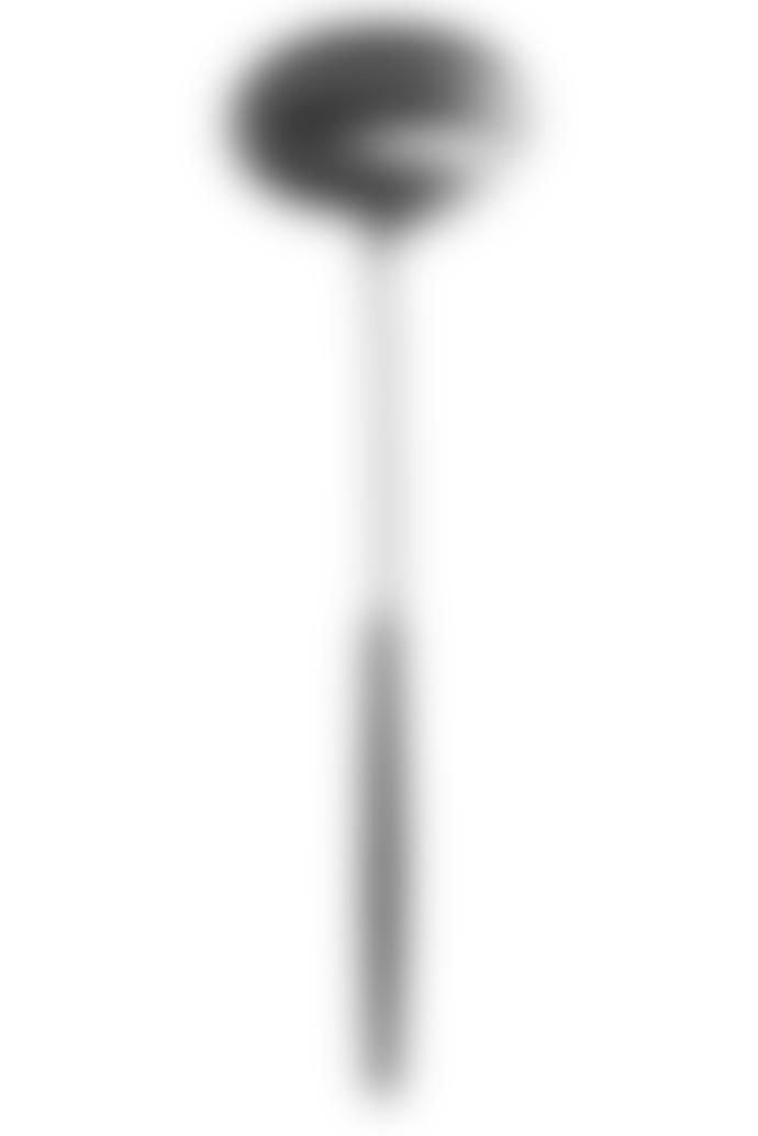 Cutipol 29.5 x 0.735cm Matte Black Stainless Steel Goa Soup Ladle