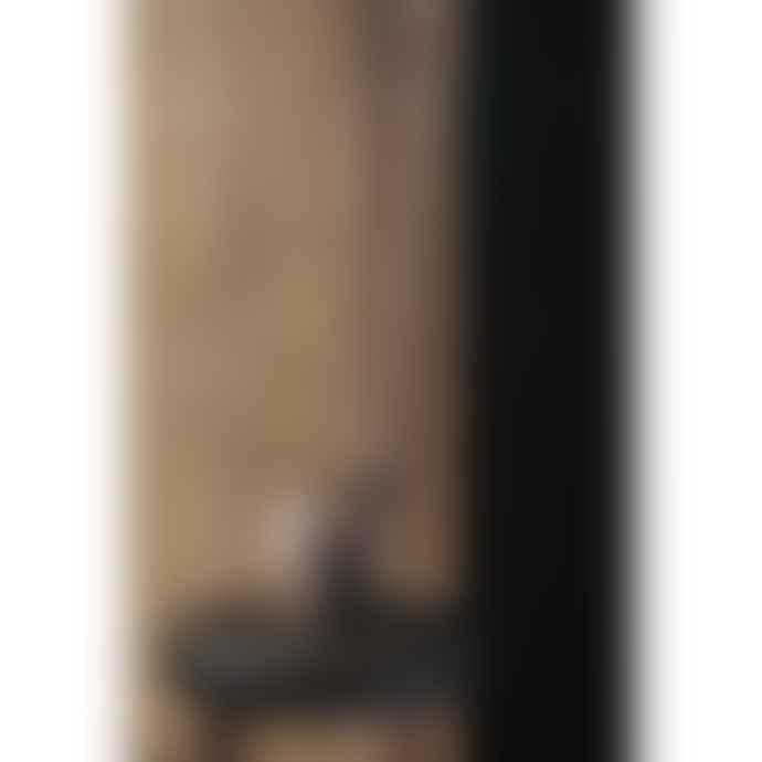 Architectmade Large Oak Wood Owl Figurine
