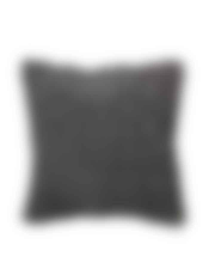 Broste Copenhagen Kroll Ruched Velvet Cushion