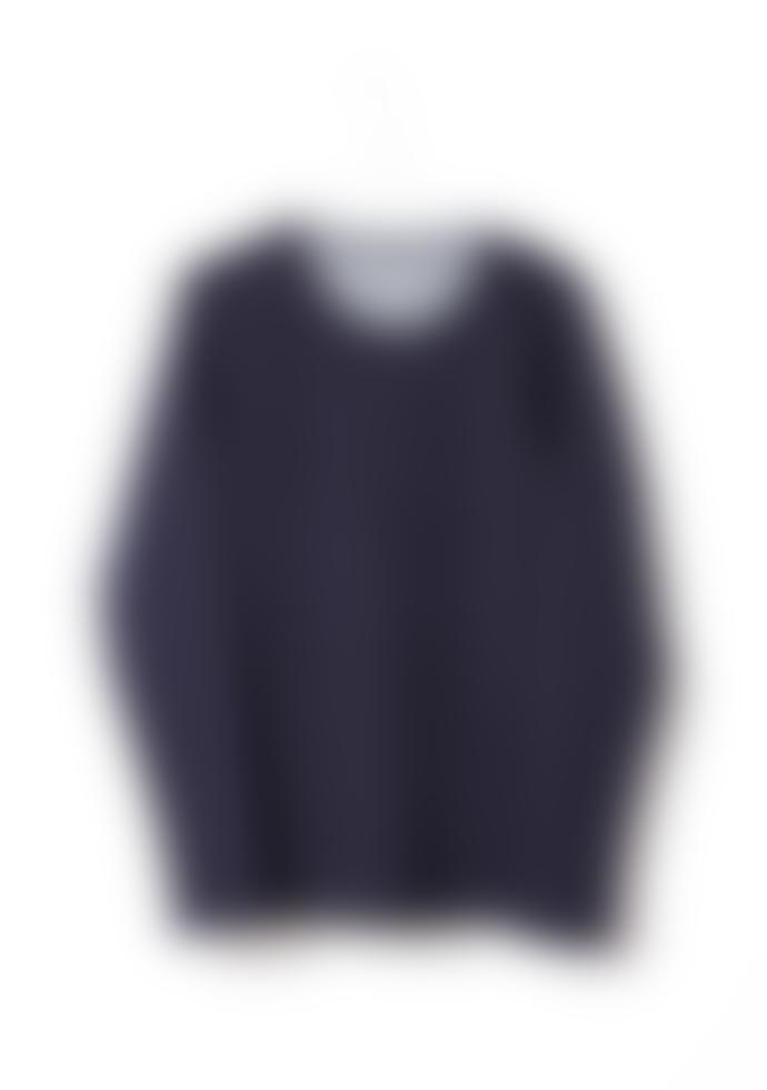 Eisdieler Jersey Longsleeve in Denim Blue