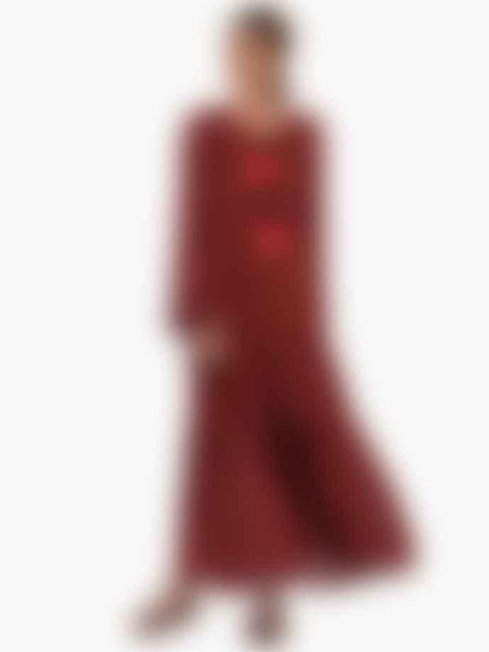 Sundress Neo Layered Tie Front Maxi Dress
