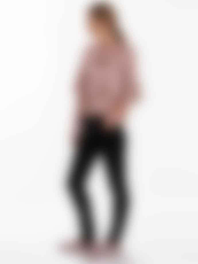 Nudie Jeans Skinny Lin Jeans Black Shadow