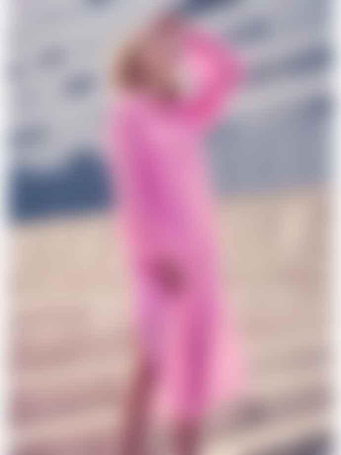 Levete Room Felina Sheer Tunic Dress