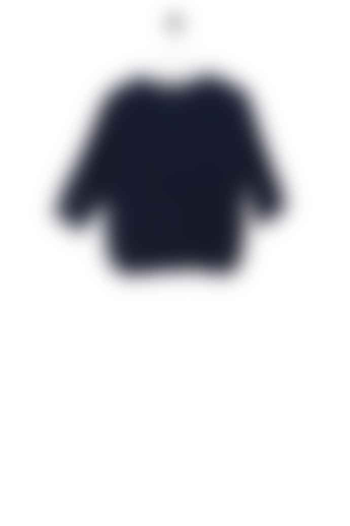 Bric-a-brac Klepper tunic navy moss knit