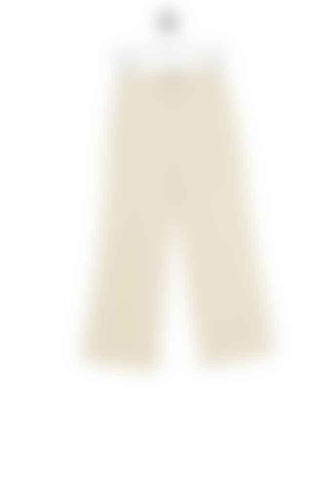 Bric-a-brac Lipizzaner trousers wide cream white denim