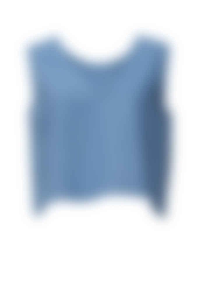 Shio Switch Top - Cornflower Blue