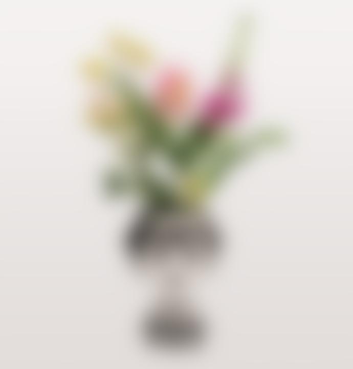 Kitsch Kitchen Marisol Lady Black And White Vase