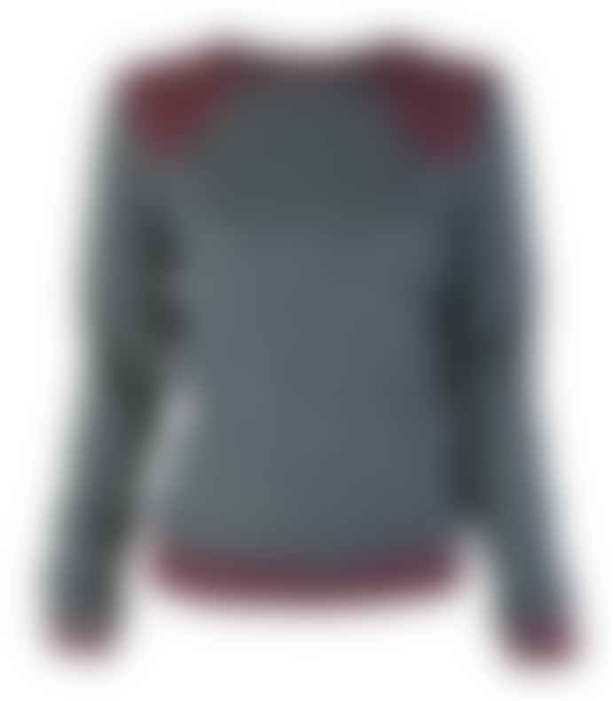 Format LENE sweater, sparkles rust sweat