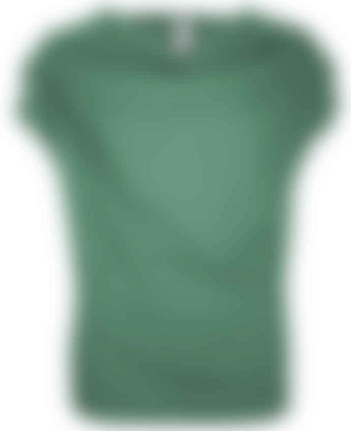 Format TJEK green melange jersey shirt