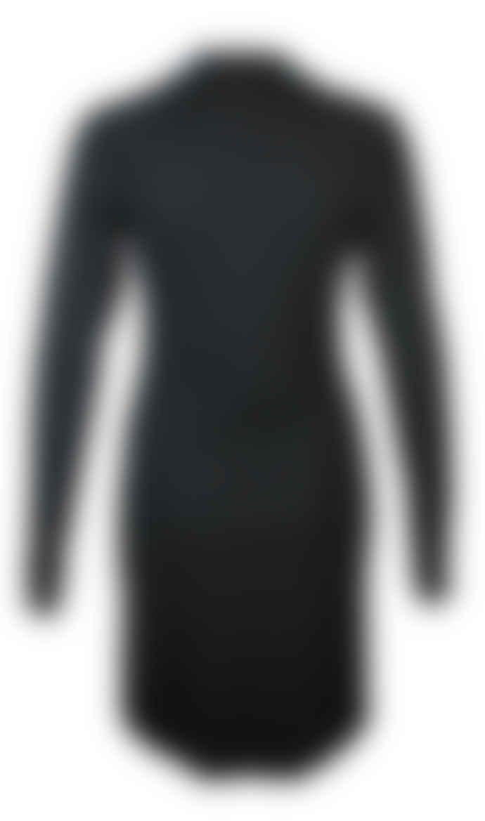 Format YELL black bluegreen dress