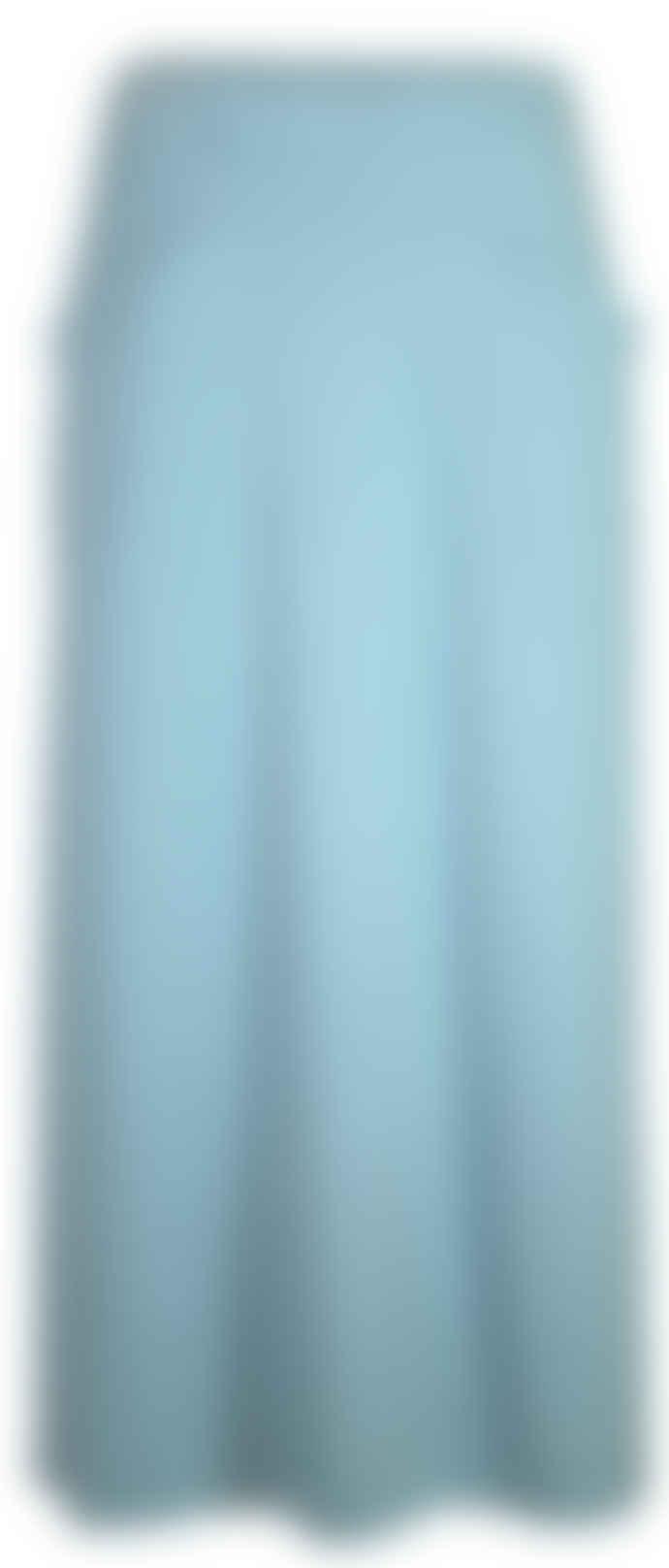 Format JADE bluegreen long skirt