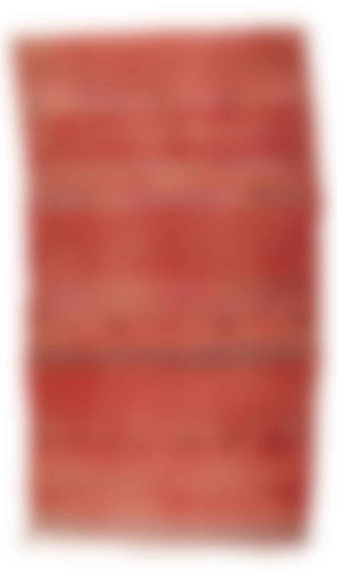 A New Tribe Moroccan Vintage Kilim Wool Rug 371