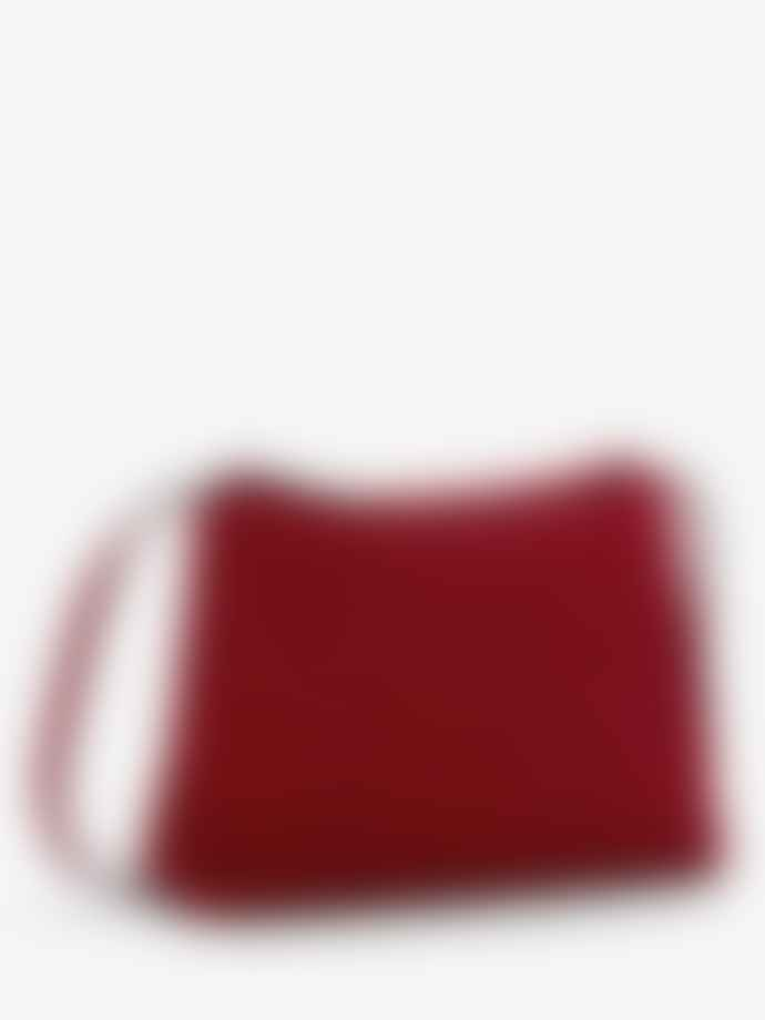 Neuville Easy Red Suede Bag