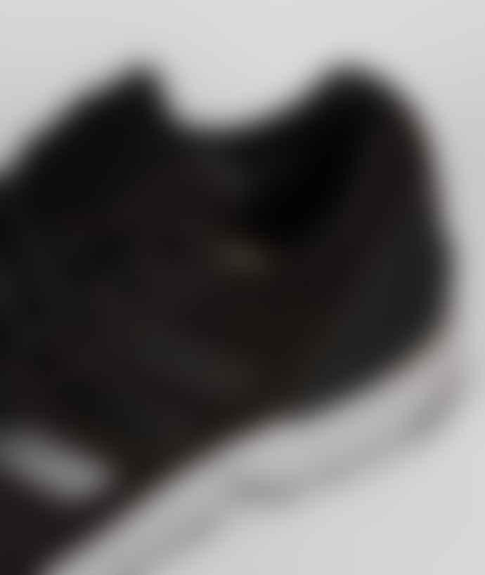 Adidas Core Black Nylon and Gore Tex Originals ZX Flux GTX Shoes