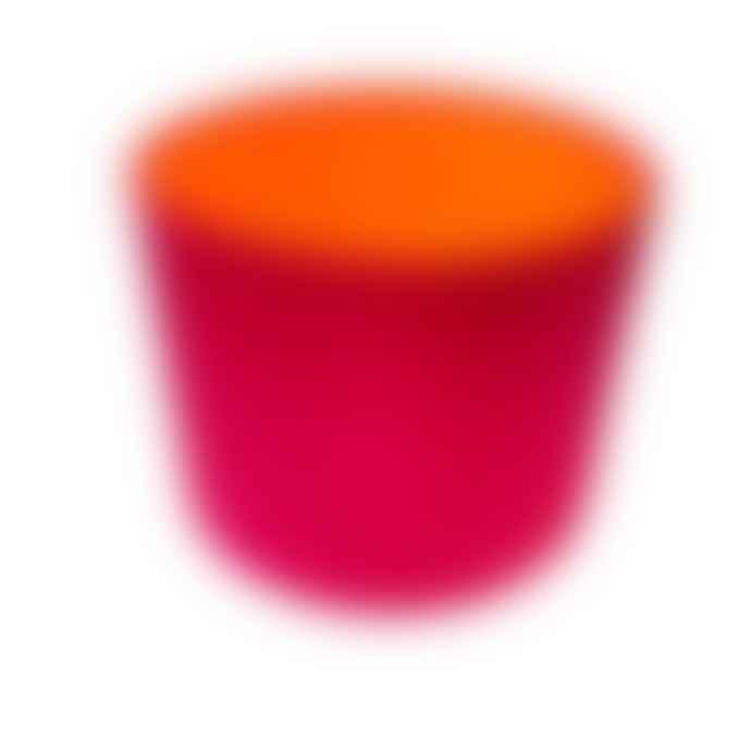 Home At No11 Pink Orange Lampshade