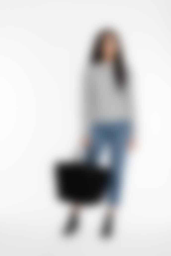 Mimi Berry Orange Vesta Handheld Or Shoulder Tote Bag