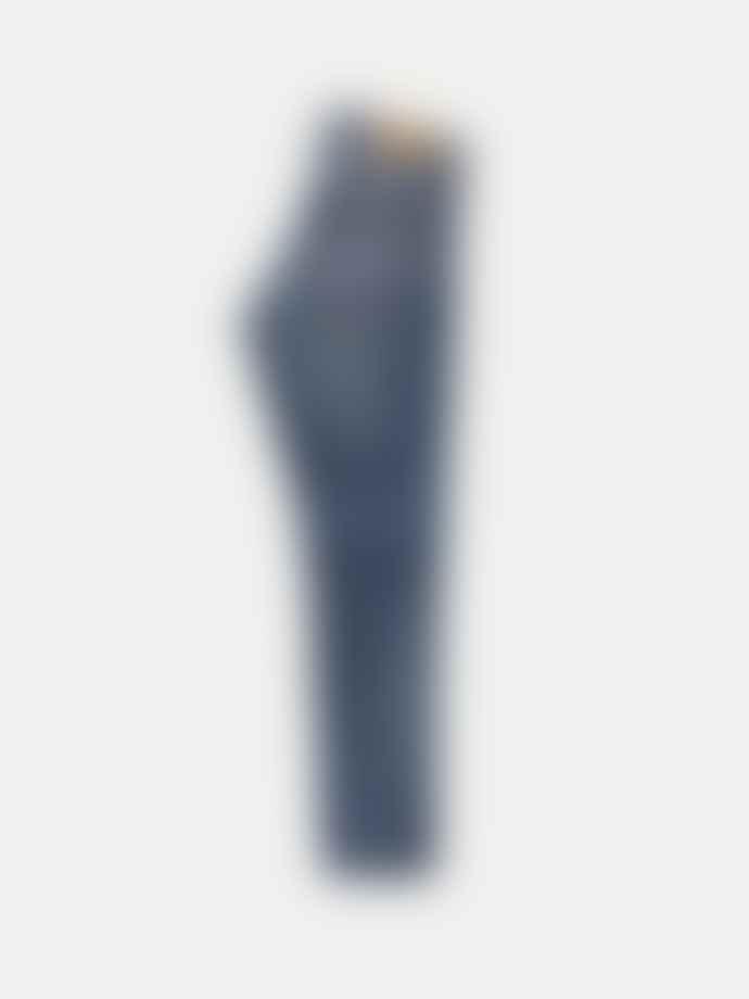 Nudie Jeans Mid Blue Indigo Grim Tim Slim Fit Jeans