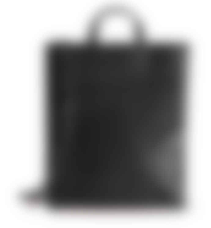 Harold's big paperbag leather tote with shoulder strap