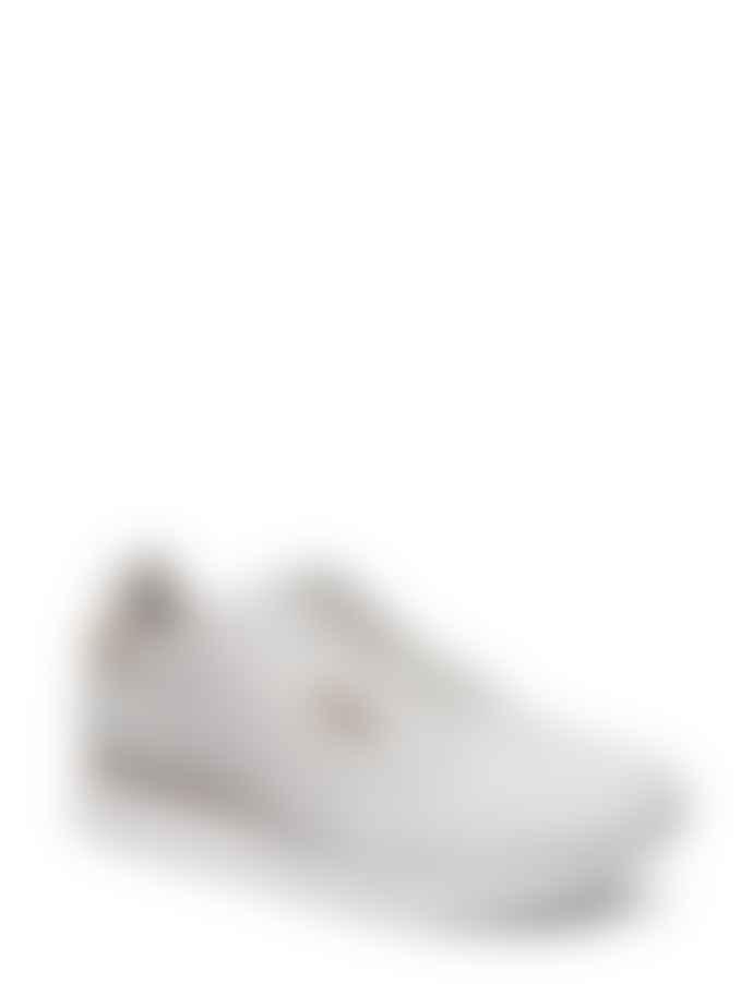 Woden Ydun Sea Fog Grey Croco Sneakers