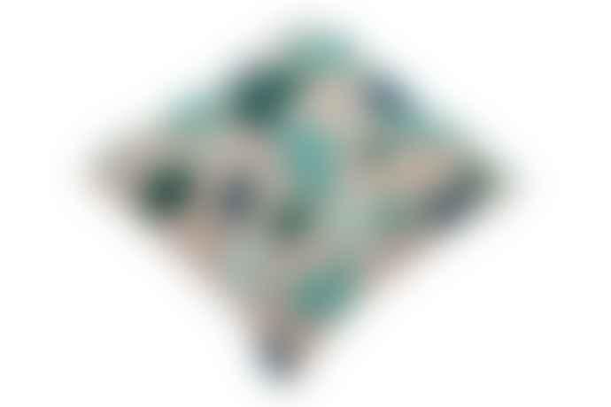Lorena Canals Cojin Terrazzo Emerald Cushion