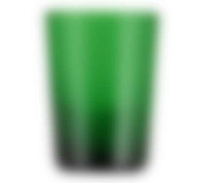 British Colour Standard Emerald Handmade Glass Tumbler