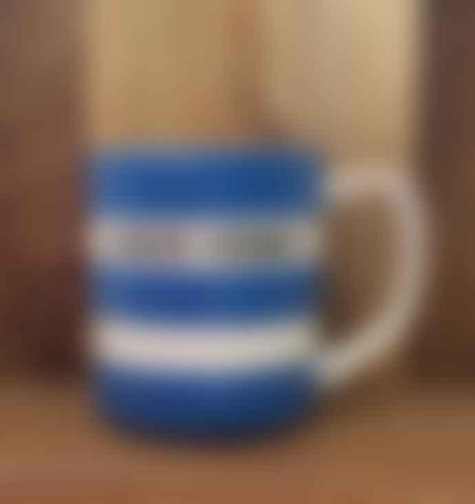 Cornishware Junior Farmer 10 Oz Blue Mug