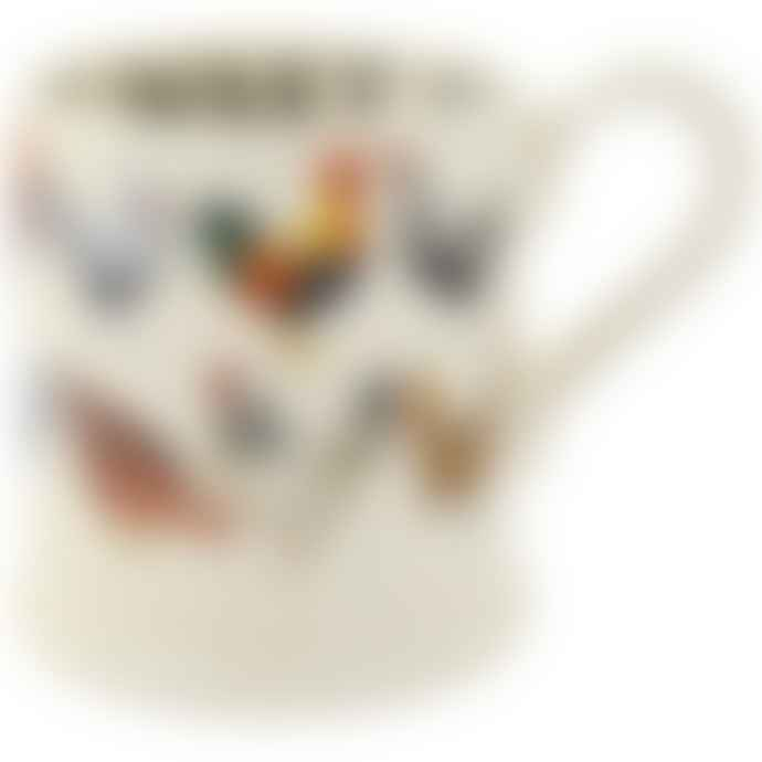 Emma Bridgewater Row Of Hens Half Pint Mug
