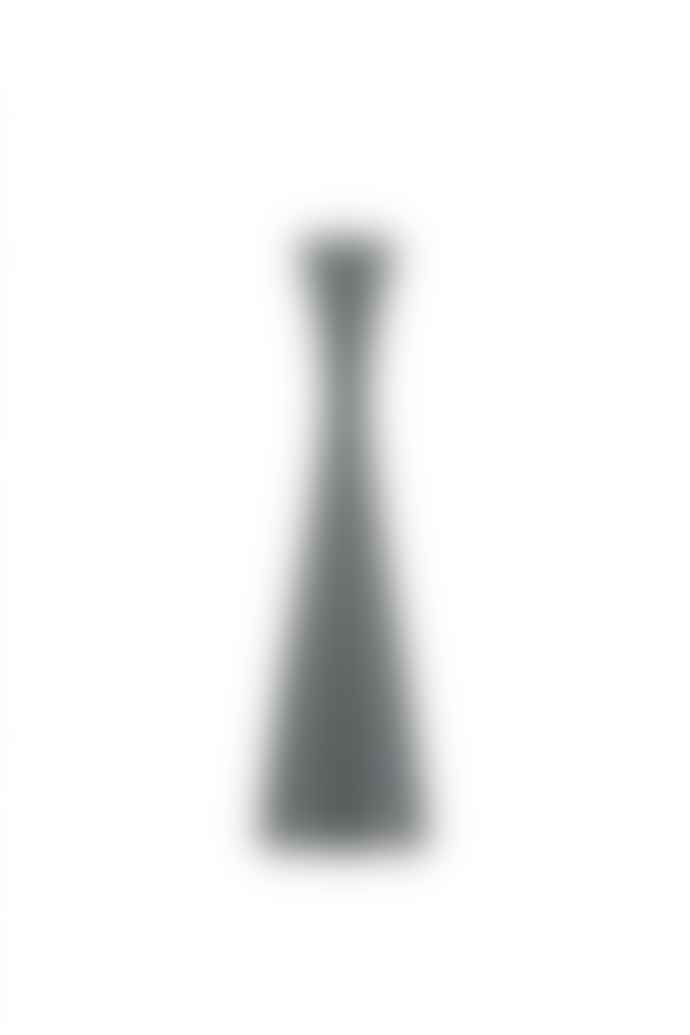 The Sue Parkinson Home Collection Gunmetal Grey Candle Holder